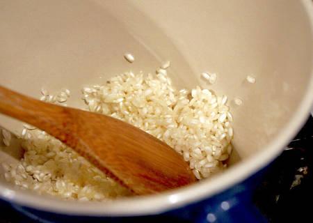 Come tostare il riso