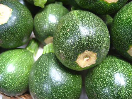 Zucchine tonde freschissime